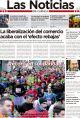 Portada de Las Noticias 2 de Enero de 2015