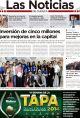 Portada de Las Noticias 27 de Junio de 2014
