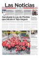 Portada de Las Noticias 15 de Mayo de 2015