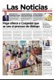 Portada de Las Noticias 24 de Julio de 2015