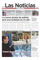Portada de Las Noticias 13 de Marzo de 2015