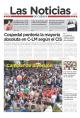 Portada de Las Noticias 8 de Mayo de 2015