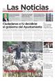 Portada de Las Noticias 29 de Mayo de 2015