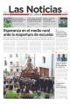 Portada de Las Noticias 17 de Julio de 2015
