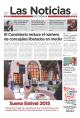 Portada de Las Noticias 26 de Junio de 2015