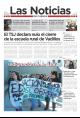 Portada de Las Noticias 27 de Febrero de 2015